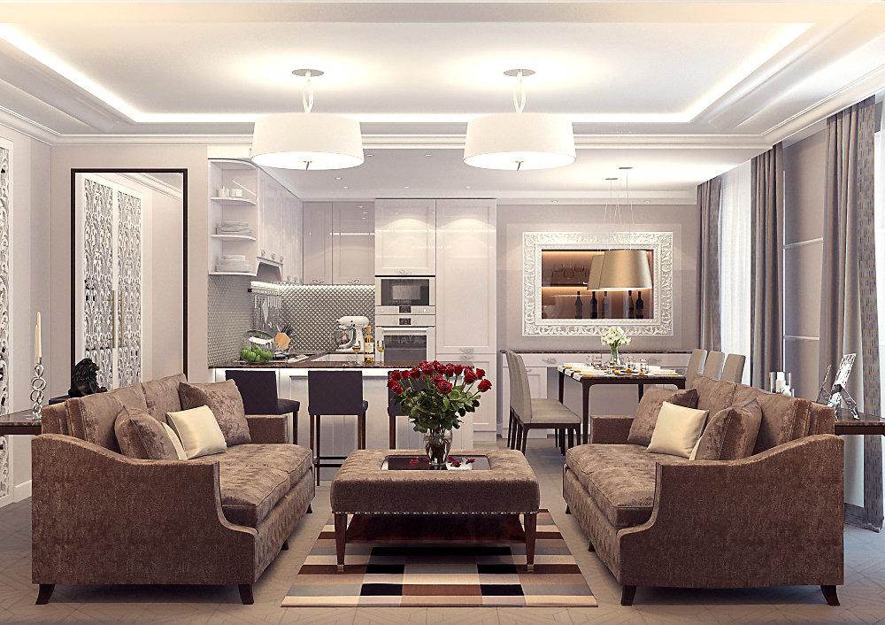 Квартира 85 кв.м. Проект сдан под ключ в 2015году